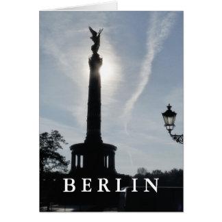 Cartão Vitória-Coluna com lâmpada de rua 02.T.2, Berlim
