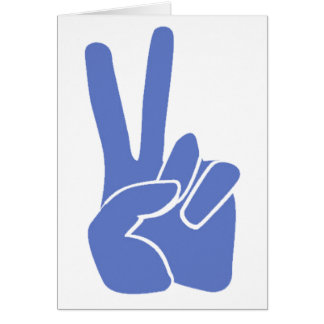 Cartão Vitória da paz