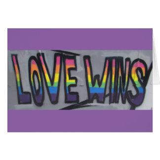 Cartão Vitórias do amor