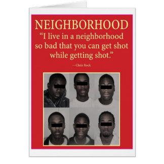 Cartão vizinhança