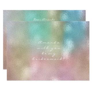Cartão Você será meu cimento dos cristais do marfim da