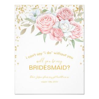 Cartão Você será meu jardim rústico do primavera da dama