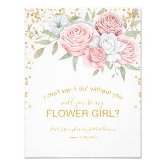Cartão Você será meu jardim rústico do primavera do