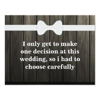 Cartão Você será meu padrinho de casamento? Fundo de