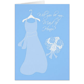 Cartão Você será minha madrinha de casamento?