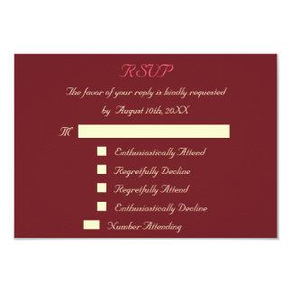 Cartão Wedding feito sob encomenda engraçado Convite 8.89 X 12.7cm