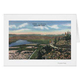 Cartão Wenatchee, WashingtonView de Ohme jardina # 1