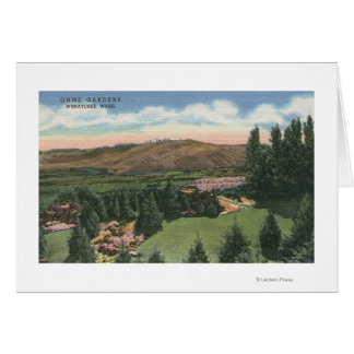 Cartão Wenatchee, WashingtonView de Ohme jardina # 2