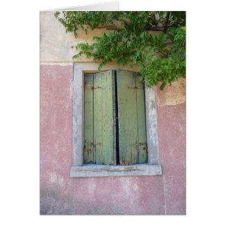 Cartão Windows de Veneza #1