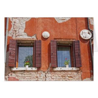 Cartão Windows Venetian