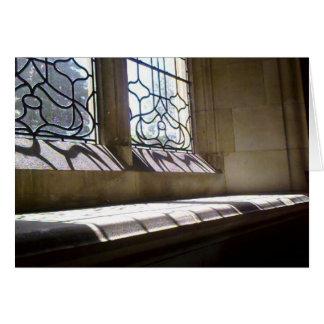 Cartão Windowsill da igreja