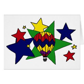 Cartão XX- Ballooning na arte das estrelas