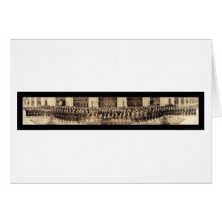 Cartão Yeomen do marinho & foto 1919 de Daniels