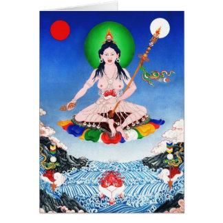 Cartão Yeshe Tsogyel [cartão]