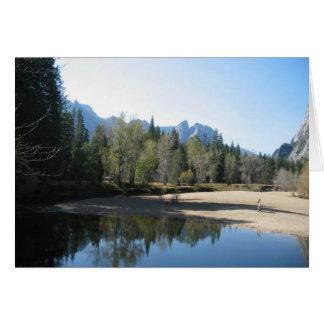 Cartão Yosemite bonito