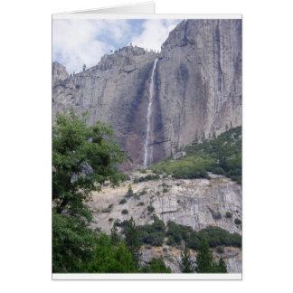 Cartão Yosemite Falls