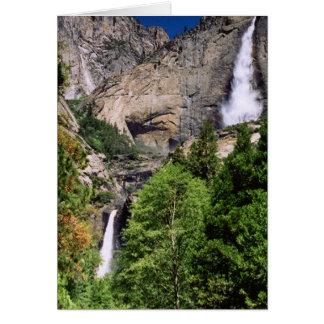 Cartão Yosemite Falls 2002