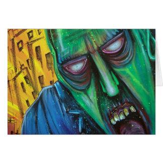 Cartão Zombi do punk rock