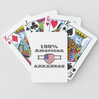 Cartas De Baralho Americano de 100%, Arkansas