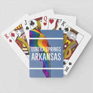 Cartas De Baralho Cartões de jogo de LGBT Eureka Springs