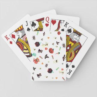 Cartas De Baralho Cartões de jogo de Spoopy