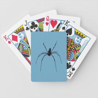 Cartas De Baralho Cartões de jogo do póquer da aranha