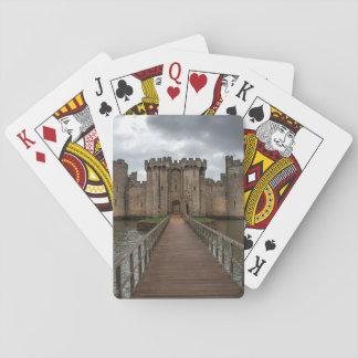 Cartas De Baralho O inglês histórico fortifica o castelo Sussex de