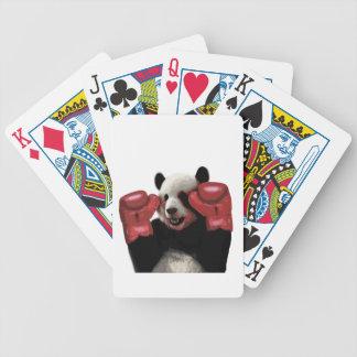 Cartas De Baralho Panda do encaixotamento