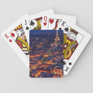 Cartas De Baralho Paris na noite