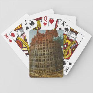 Cartas De Baralho PIETER BRUEGEL - A torre de Babel pequena 1563