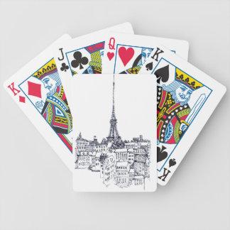 Cartas De Baralho Torre Eiffel