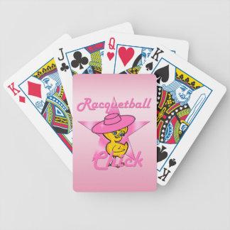 Cartas De Baralhos Pintinho #8 do Racquetball