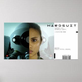 Cartaz cinematográfico de Hardsuit Poster
