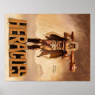 Cartaz cinematográfico do estilo do vintage de Her Poster