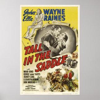 Cartaz cinematográfico do vintage póster
