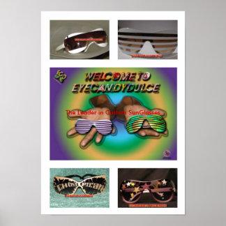 CARTAZ de EYECANDYDULCE personalizado Posteres