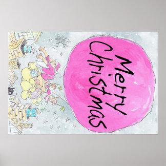 Cartaz do Natal Pôster