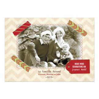Carte photo de Noël Convites