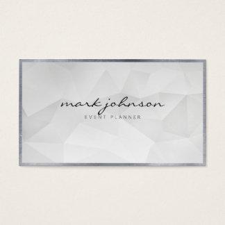 Cartões brancos profissionais modernos cartão de visita