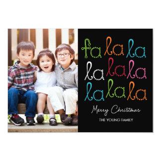 Cartões com fotos do feriado do La do La do Fa