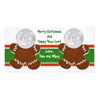 Cartões com fotos do feriado dos homens de pão-de-