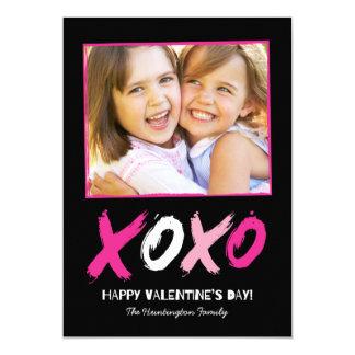 Cartões com fotos Lovingly escovados do dia dos Convite 12.7 X 17.78cm