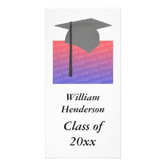 Cartões com fotos personalizados da graduação