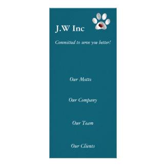 cartões da cremalheira do negócio dos cuidados dos