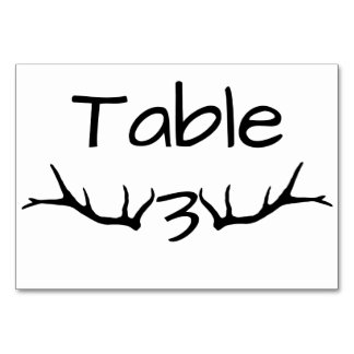 Cartões da mesa da mesa 3 do Antler