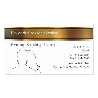 Cartões de actividade de intermediário executivos  modelo cartoes de visita