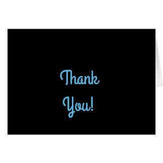 Cartões de agradecimentos bonito