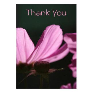 Cartões de agradecimentos - Comos & Sun - fotograf Cartão De Visita Grande