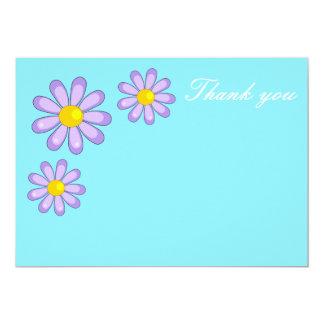 Cartões de agradecimentos convite 12.7 x 17.78cm