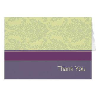 Cartões de agradecimentos da coleção do amor da am